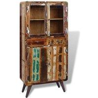 Cupboard Solid Reclaimed Wood 90x40x190 cm VD09752 - Hommoo