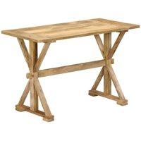 Hommoo Dining Table 140x70x76 cm Solid Mango Wood VD13446