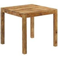 Hommoo Dining Table Solid Mango Wood 82x80x76 cm VD12629