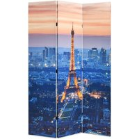 Hommoo Folding Room Divider 120x170 cm Paris by Night