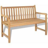 Garden Bench 120 cm Teak - Hommoo