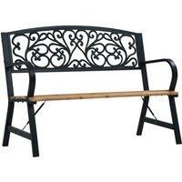 Hommoo Garden Bench 120 cm Wood VD30279