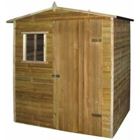 Garden House Shed 1.5x2 m FSC Impregnated Pinewood - Hommoo