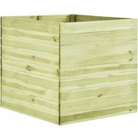 Hommoo Garden Planter 100x100x97 cm Impregnated Pinewood VD4