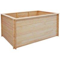 Garden Planter 150x100x80 cm FSC Pinewood 19 mm - Hommoo