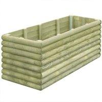 Garden Planter 150x56x48 cm FSC Impregnated Pinewood 19 mm -