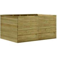 Hommoo Garden Planter 200x150x97 cm Impregnated Pinewood VD46933