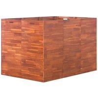 Hommoo Garden Planter Acacia Wood 150x100x100 cm VD28244