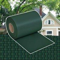 Garden Privacy Screen PVC 70x0.19 m Green VD26601 - Hommoo
