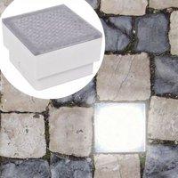 LED Inground Lights 12 pcs 100x100x68 mm VD15890 - Hommoo