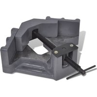 Hommoo Manually Operated Drill Press Corner Vice 115 mm VD03913