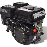 Motore a Benzina Nero 6,5 HP 4,8 kW VD03641 - Hommoo