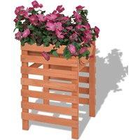 Planter 38x36x60 cm Wood VD26968 - Hommoo