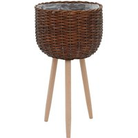 Planter Wicker with PE Lining VD12747 - Hommoo