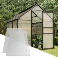 Polycarbonate Sheets 5 pcs 6 mm 150x65 cm VD35528 - Hommoo