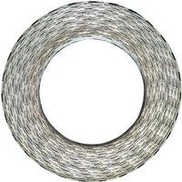 Razor Concertina Wire Galvanised Steel 500 m QAH05259 - Hommoo