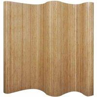 Room Divider Bamboo Natural 250x165 cm VD08901 - Hommoo