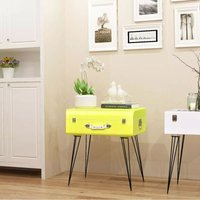 Hommoo Side Cabinet 49.5x36x60 cm Yellow VD09657