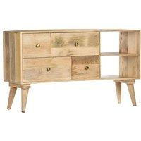 Hommoo Sideboard 110x30x62 cm Solid Mango Wood VD36648