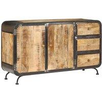 Sideboard 140x40x80 cm Solid Mango Wood VD13655 - Hommoo