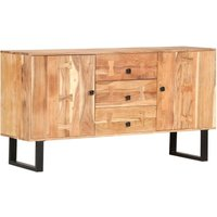 Sideboard 150x40x75 cm Solid Acacia Wood VD47773 - Hommoo
