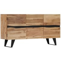 Hommoo Sideboard 150x40x79 cm Solid Acacia Wood