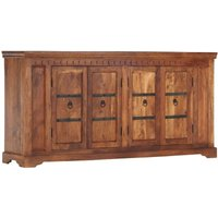 Hommoo Sideboard 170x40x85 cm Solid Acacia Wood VD13854