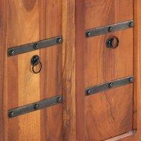 Sideboard 170x40x85 cm Solid Acacia Wood QAH13854 - Hommoo