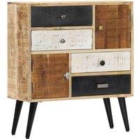 Hommoo Sideboard 70x30x78 cm Solid Mango Wood VD23945