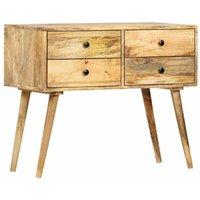 Sideboard 85x40x71 cm Solid Mango Wood VD36663 - Hommoo