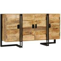 Hommoo Sideboard Solid Mango Wood 150x40x80 cm VD11966