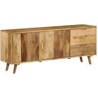 Hommoo Sideboard Solid Mango Wood 170x40x70 cm VD12714