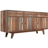 Hommoo Sideboard Solid Wood Vintage 145x40x75 cm VD10973