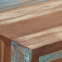 Hommoo Sideboard Solid Wood Vintage 145x40x75 cm QAH10973