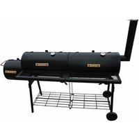 Smoker BBQ Nevada XL Black QAH26136 - Hommoo