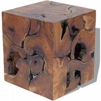 Stool Solid Teak Wood QAH09828 - Hommoo
