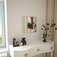 Hommoo Wall Mirror 40x40 cm Square Glass VD11646