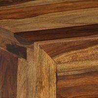 Writing Table Solid Sheesham Wood 110x55x76 cm QAH12150 - Hommoo