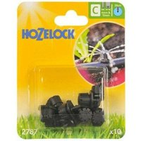 10 x 2787 End Line Adjustable Mini Water Sprinkler Micro Irrigation - Hozelock