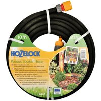 10m 12.5mm Standard Soaker Garden Hose Pipe + Kit 6761 - Hozelock