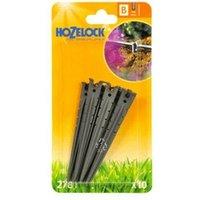 10 x 2781 Supply Hose Stake 4mm Micro Irrigation Automatic Watering - Hozelock