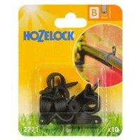 10 x 2771 Supply Hose Wall Clip 13mm Micro Irrigation Garden Watering - Hozelock