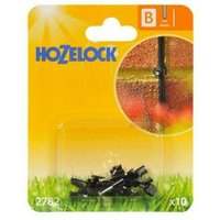 10 x 2782 Micro Pipe Hose Clip 4mm Micro Irrigation Automatic Watering - Hozelock