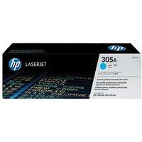 Hewlett Packard HPCE411A Cyan Toner Cartridge NO.305A