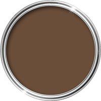 Smooth Masonry Paint 10L (Leaf Brown) - 10 L - HQC