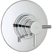 Tec Dual Concealed Thermostatic Mixer Shower Valve - Hudson Reed