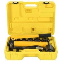 Hydraulic Crimping Tool Set 22-60 mm - Vidaxl