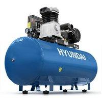 Hyundai 200 Litre Air Compressor, 14CFM/145psi, Electric 3hp   HY3200S