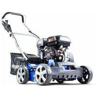 210cc 400mm Petrol Lawn Scarifier and Aerator Push HYSC210 - Hyundai