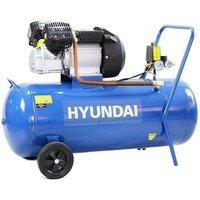Hyundai HY30100V 14CFM, 3HP, 100 Litre V Twin Direct Drive A